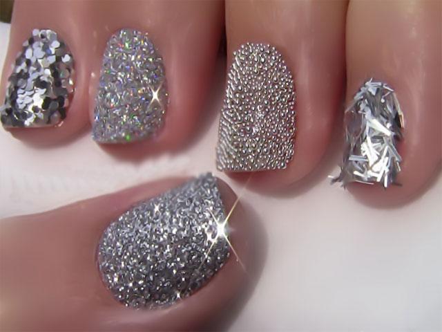 Glitter Nail Polish Ideas  (5)
