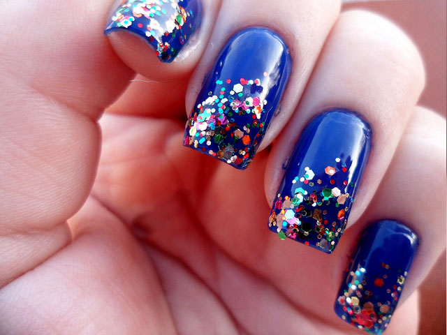 Glitter Nail Polish Ideas  (6)