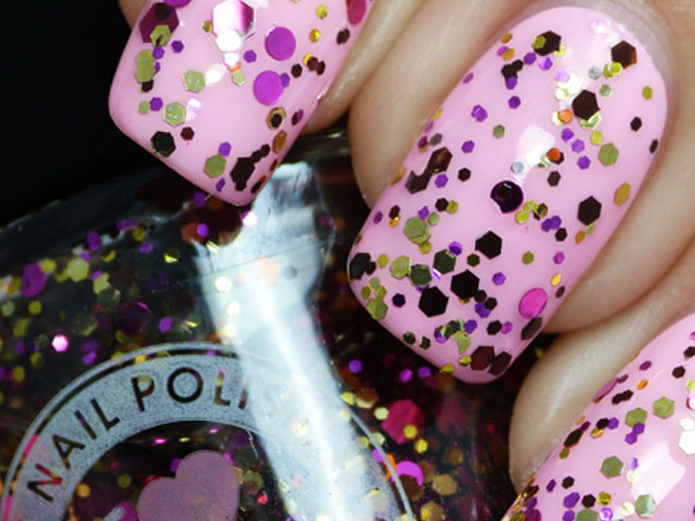Glitter Nail Polish Ideas  (9)