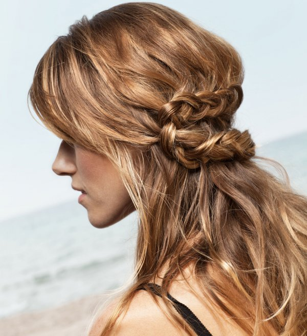 Untidy knots help you look hot