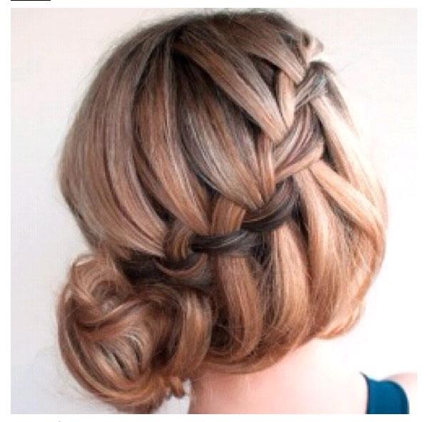 Cool bun and braids