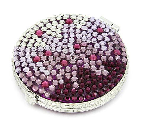 Handy Mirrors With Swarovski Crystal  (10)