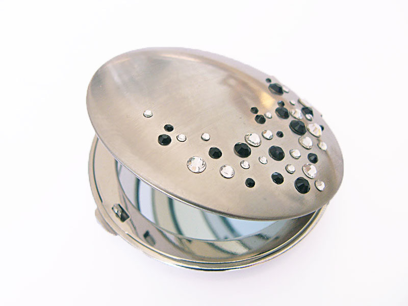 Handy Mirrors With Swarovski Crystal  (3)