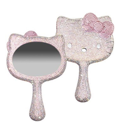 Handy Mirrors With Swarovski Crystal  (5)