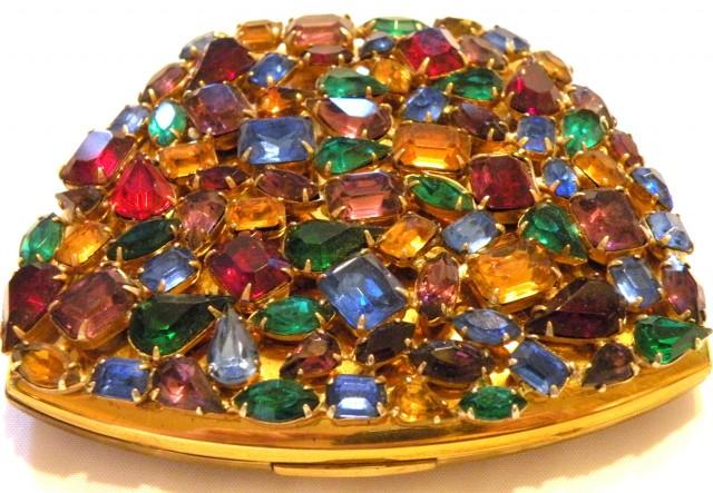 Handy Mirrors With Swarovski Crystal  (6)
