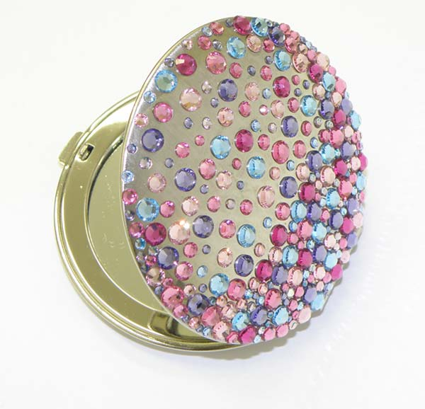 Adorable Ideas Of Handy Mirrors With Swarovski Crystals
