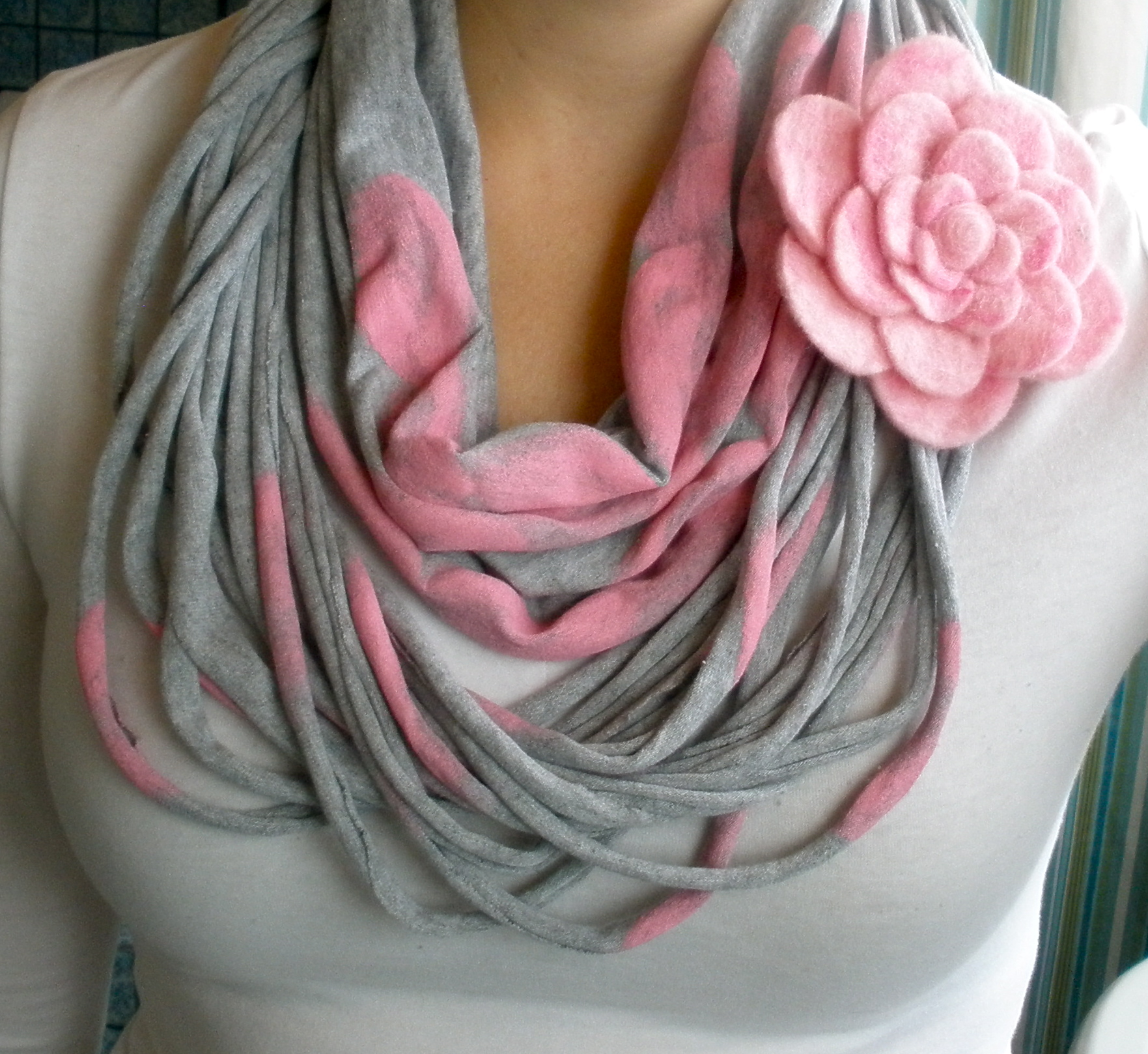 20 DIY Ideas For Scarf Which Are Going To Be Trendy  This Spring 2013