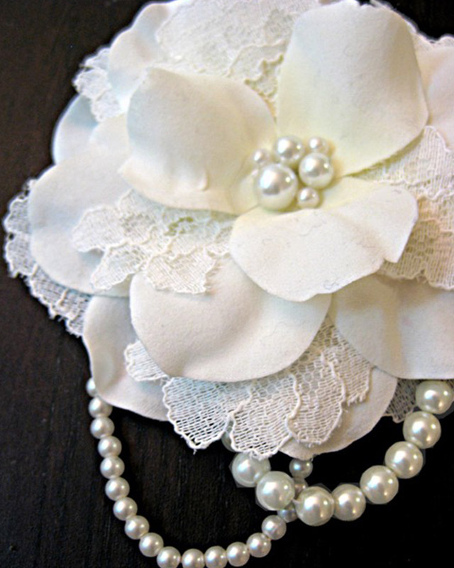 Interesting Craft  Ideas With Lace (12)