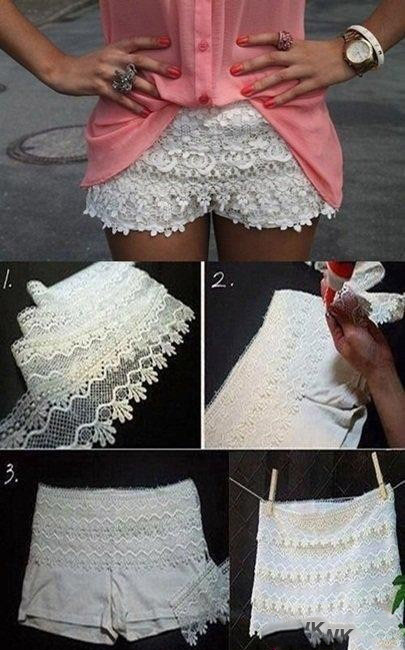Interesting Craft  Ideas With Lace (8)