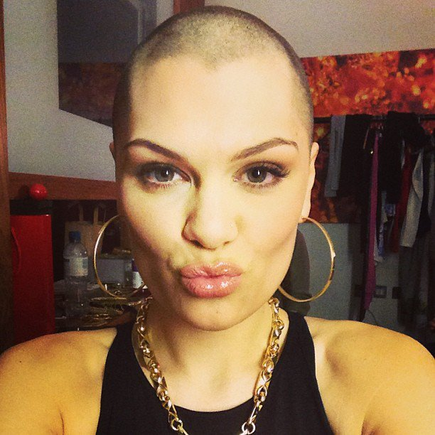 Jessie J completely Shaved His Head