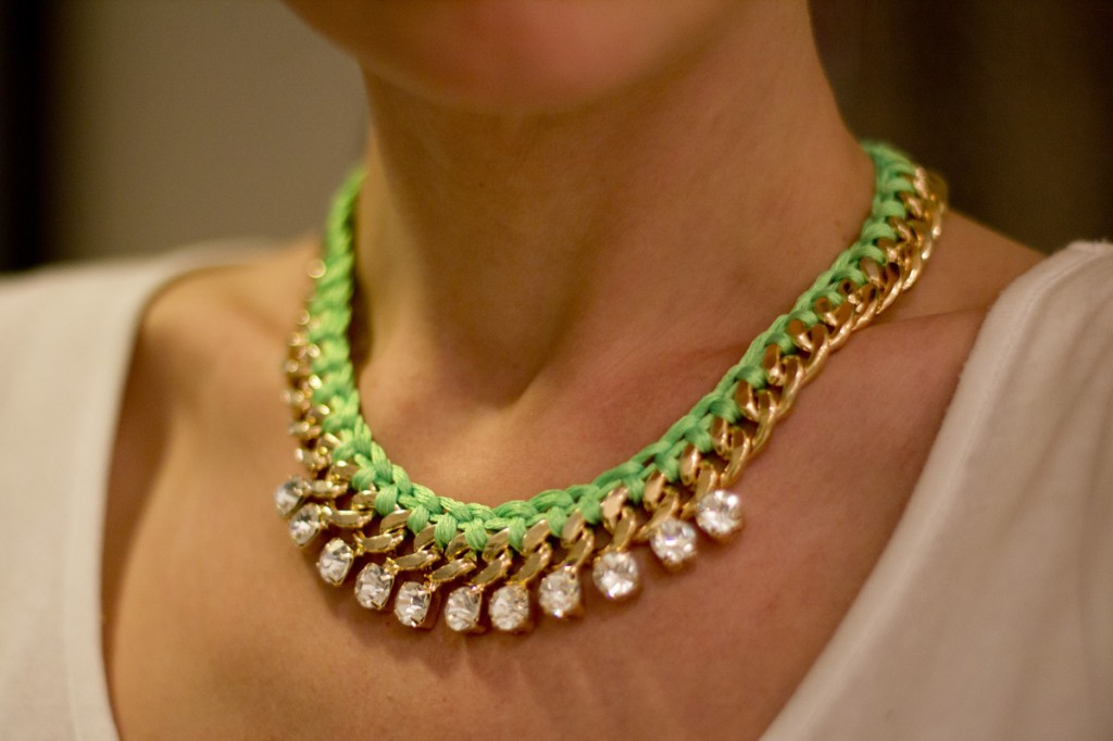 diy jewelry chains cool ideas