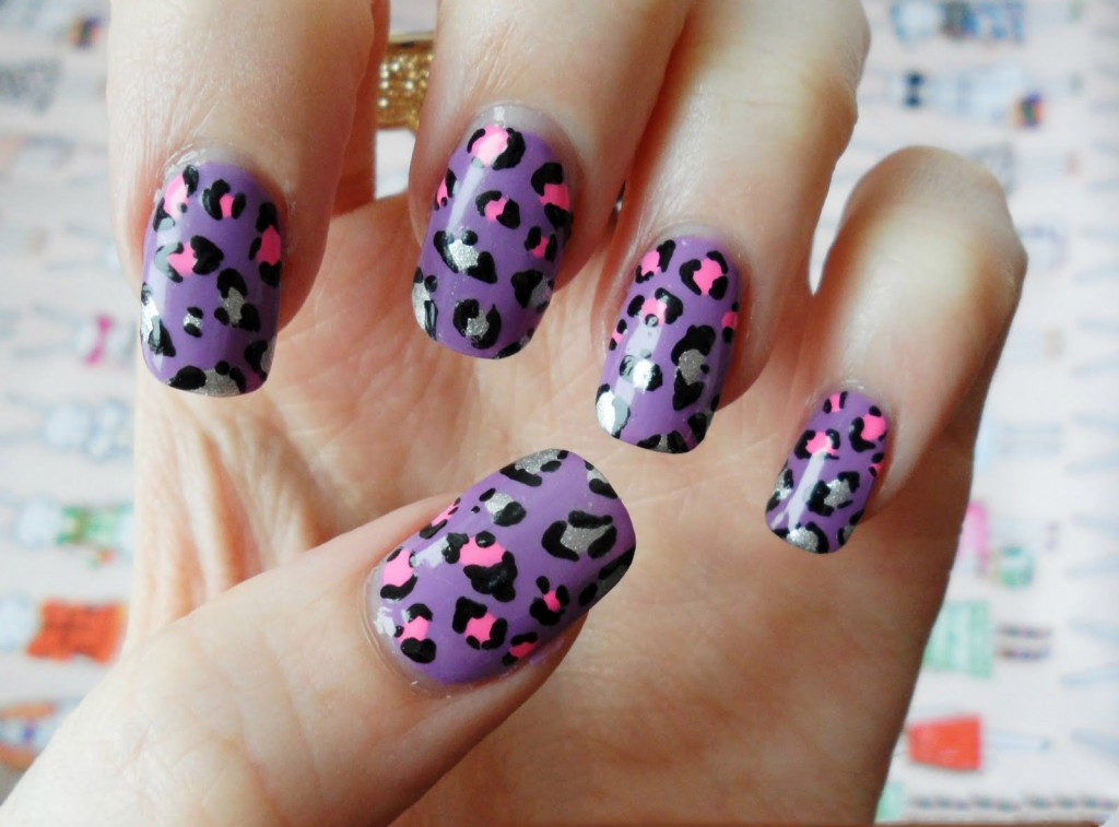 22 Leopard Print Nail Polish Ideas - Fashion Diva Design