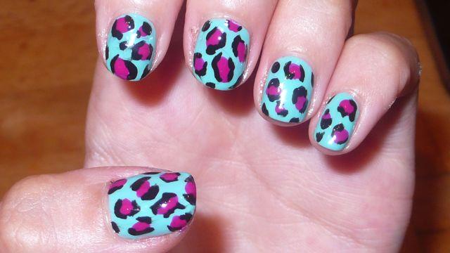 Leopard Print Nail Polish (15)