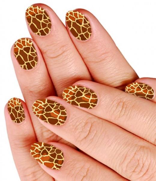 Leopard Print Nail Polish (20)