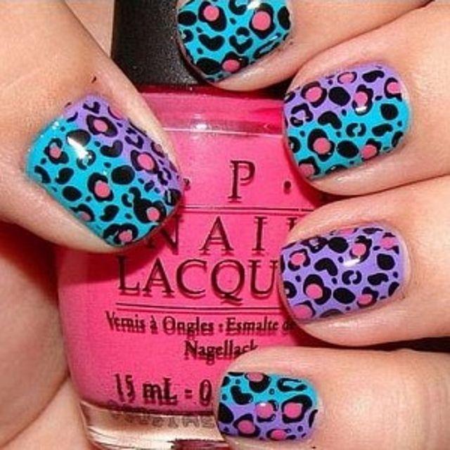Leopard Print Nail Polish (3)