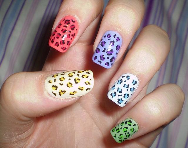 Leopard Print Nail Polish (4)