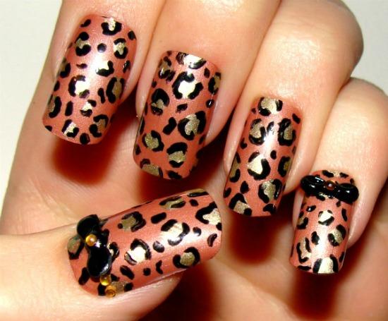 Leopard Print Nail Polish (6)