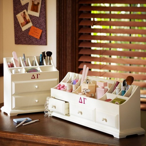 Diy 25 tips for storing your makeup Makeup organizer ideas