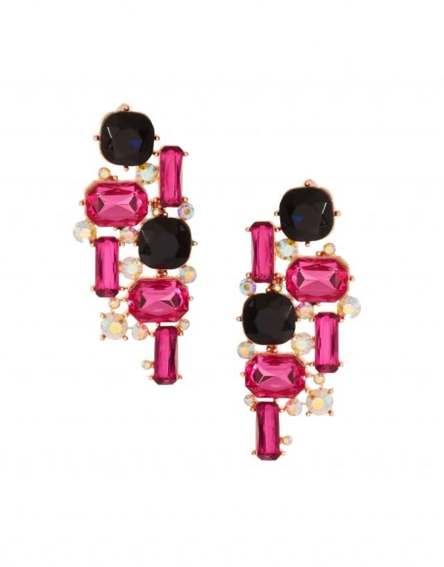 Mixed Gemstone Stud Earrings