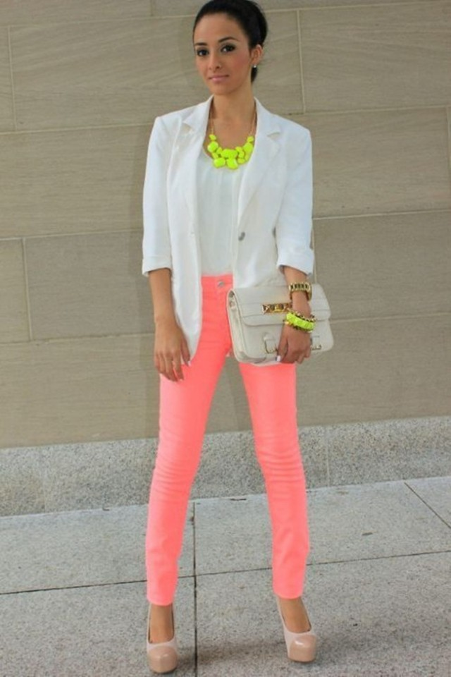 Neon Is An Attractive Color And This Season (21)