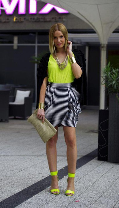 Neon Is An Attractive Color And This Season (3)
