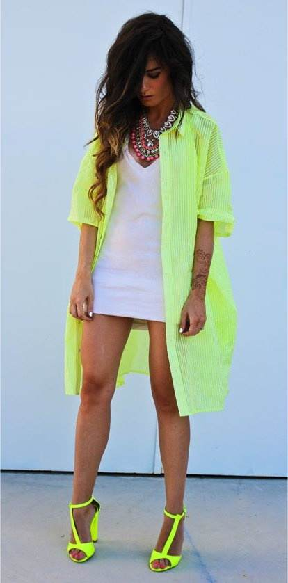 Neon Is An Attractive Color And This Season (9)