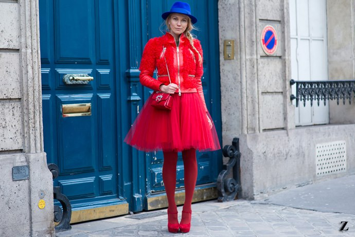 STREET STYLE - PFW FALL 2013 (1)