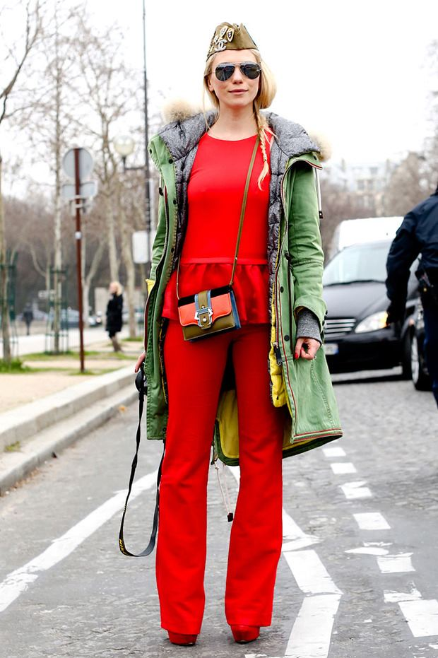 STREET STYLE - PFW FALL 2013 (12)