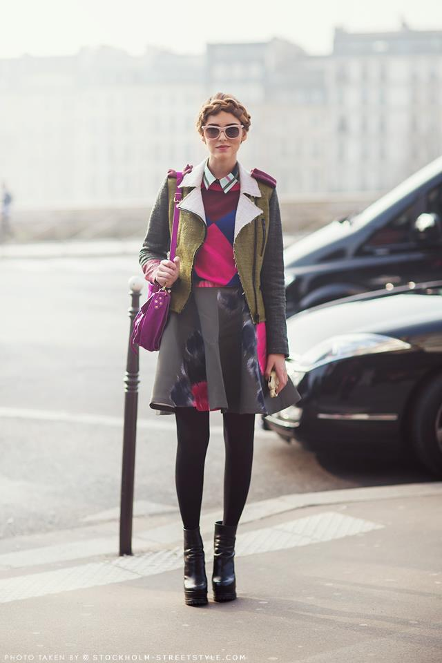 STREET STYLE - PFW FALL 2013 (4)