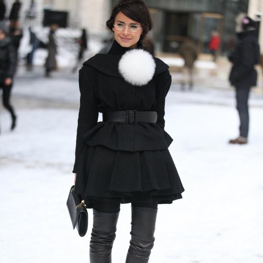 The Best STREET STYLE – PFW FALL 2013