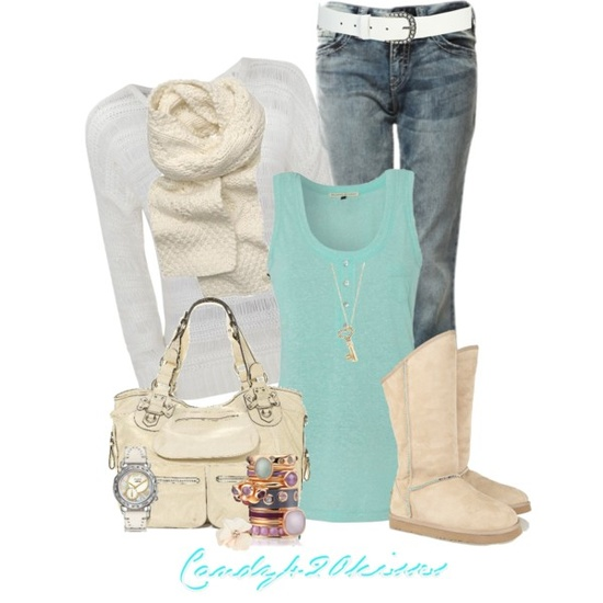Spring Trendy Polyvore Combinations (12)