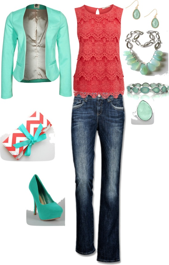 Spring Trendy Polyvore Combinations (5)