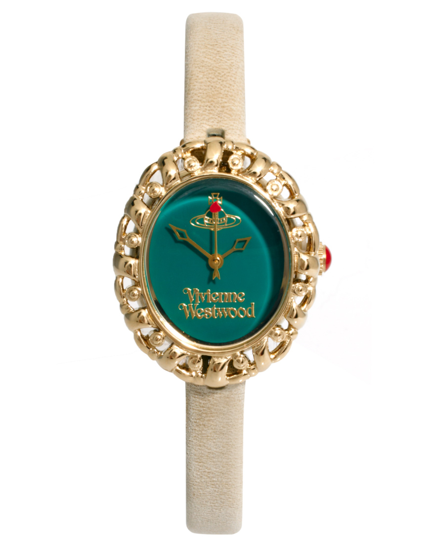 Vivienne Westwood Mini Leather Strap Watch