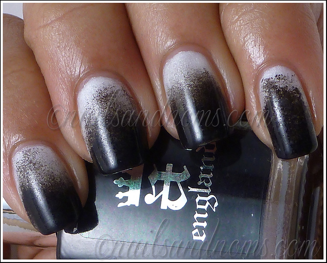 black and white manicure ideas (25)