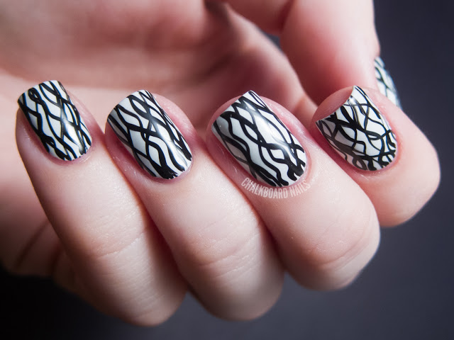 black and white manicure ideas (36)