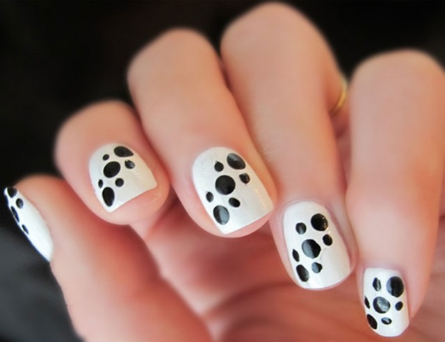 black and white manicure ideas (38)