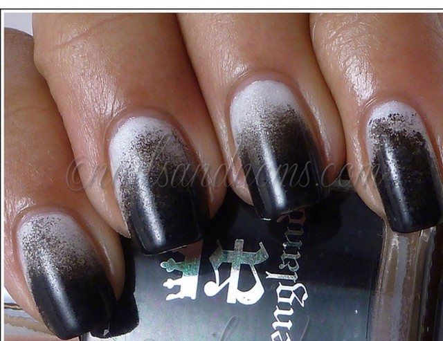 black and white manicure ideas (40)