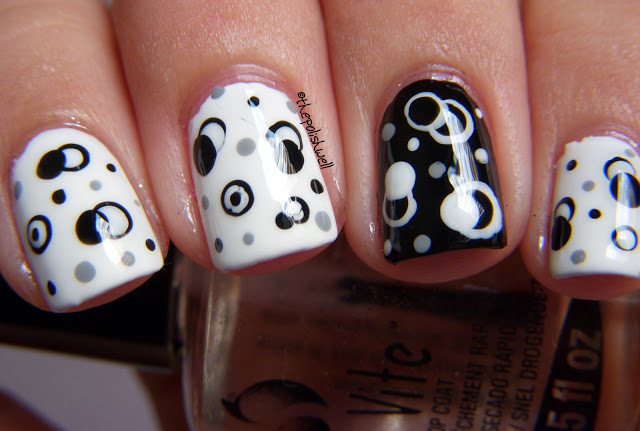 black and white manicure ideas (42)