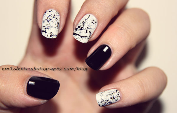 black and white manicure ideas (44)