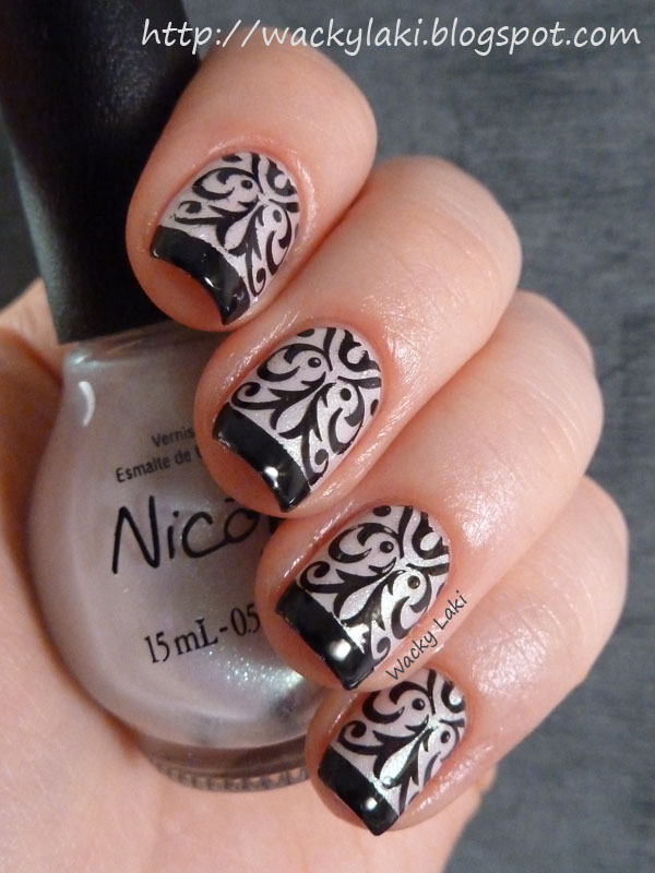 black and white manicure ideas (46)
