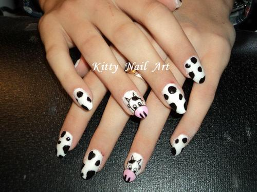 black and white manicure ideas (49)