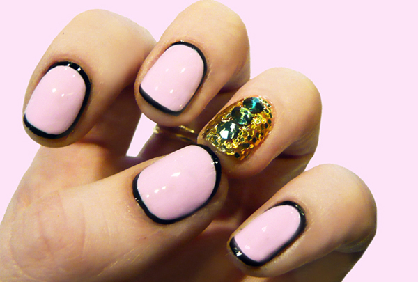 Amazing Retro Nails Design (1)