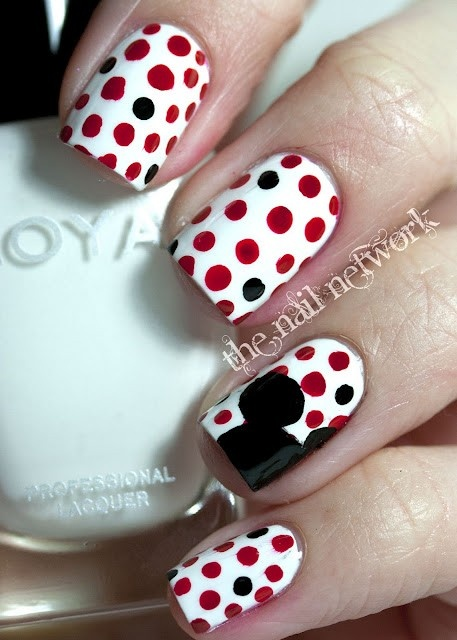 Amazing Retro Nails Design (10)