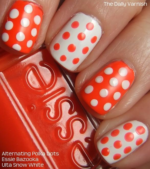 Amazing Retro Nails Design (11)
