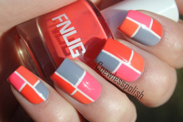 Amazing Retro Nails Design (16)