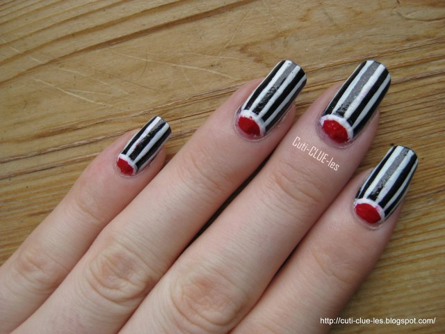 Amazing Retro Nails Design (2)