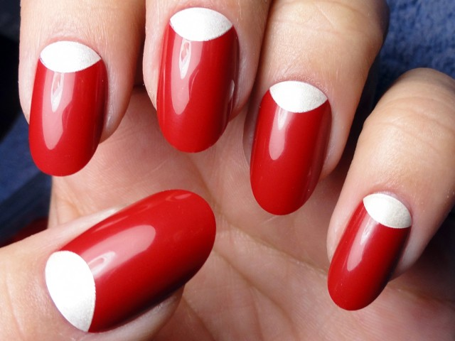 Amazing Retro Nails Design (20)