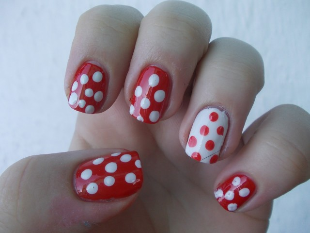 Amazing Retro Nails Design (23)