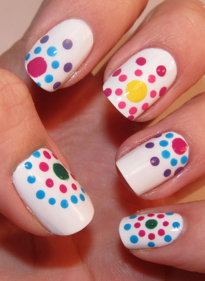 Amazing Retro Nails Design (34)