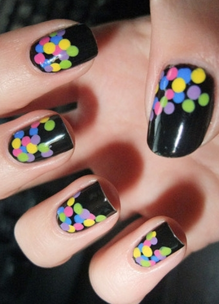 Amazing Retro Nails Design (36)
